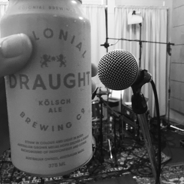 Tonight's rehearsal fuelled with 'Lonial draft. #quiteNice @cbco_