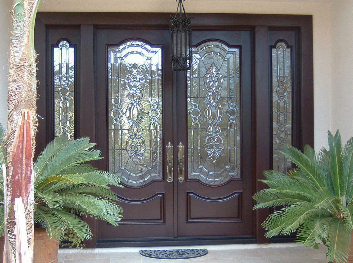 """Our Doors are Different! - Our standard Entry Doors are 2 3/8"""" thick,factory finished (paint or stain), pre-hung, mansion-style doors. Everything required for a successful installation is included in the securely packaged crate: door jamb, hinges, interior and exterior moldings, threshold and weather-stripping.Stock Doors 