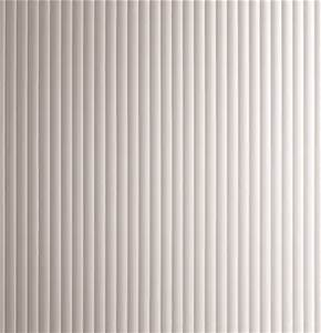 Narrow Fluted Glass