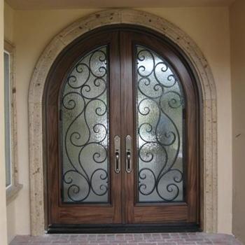 Iron in Glass Door Gallery