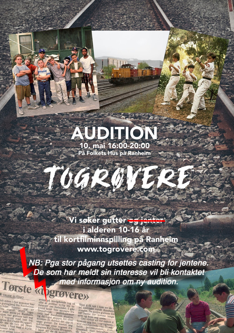togrovere plakat casting