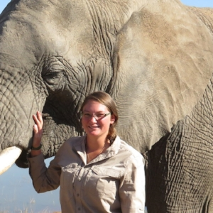 Katrina Leser   Project coordinator   Katrina Leser was a student intern for our elephant darting project. Through her work in an administrative and organizational capacity she helped create the foundation for the lab, forging relationships with partners in South Africa as well as acting as a communications liaison for our international partners. She also collected the first samples in the summer of 2017.Katrina earned her Bachelor's Degree in Animal Science from North Carolina State University and is currently pursuing a Doctor of Veterinary Medicine.