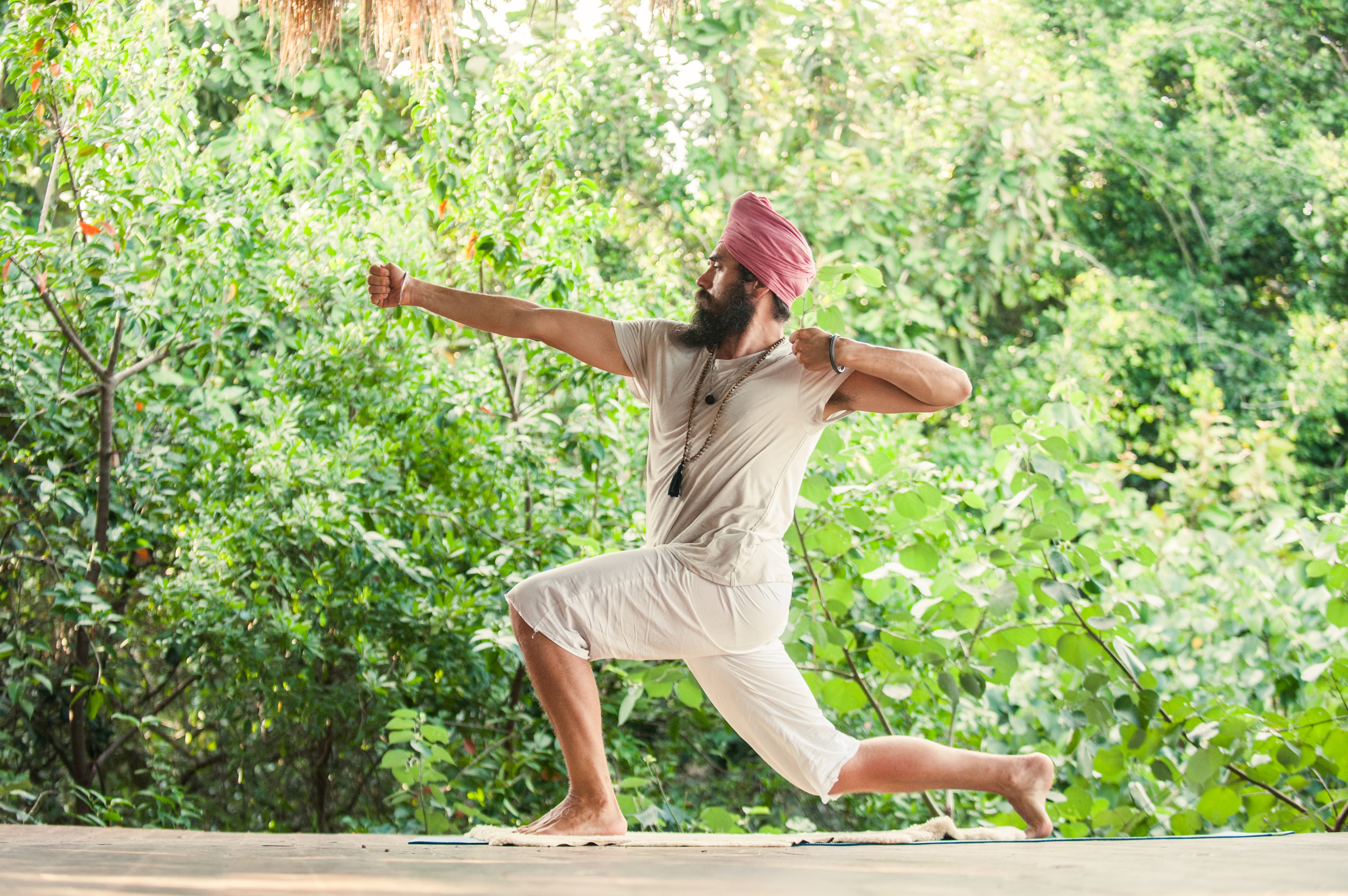 Man-to-Man Kundalini Yoga with Hari Karam Singh