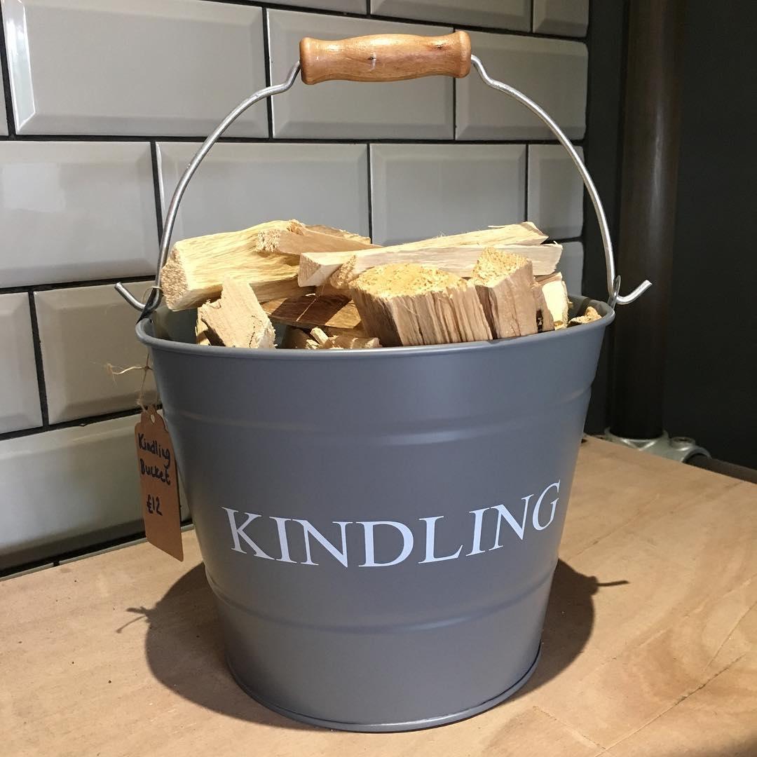 portishead stove co kindling bucket