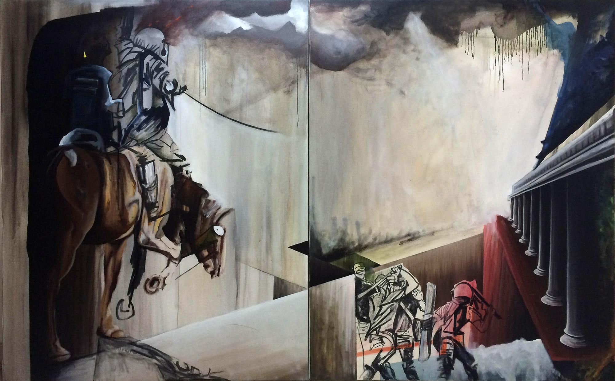 Caravaggio Horse