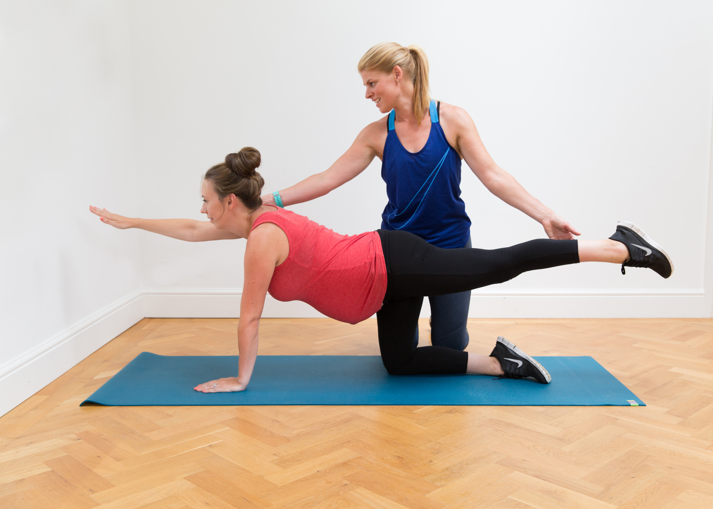 Pre AND post natal - My advanced qualifications ensure I know how to instruct women to prepare, recover and move their body during the pre natal and post natal stages. Find out more in Pre natal and Post natal.