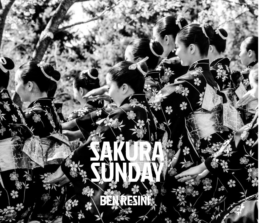- Sakura Sunday highlights traditional Japanese Dance & Drumming with stunning imagery in this hardbound large format photography book.