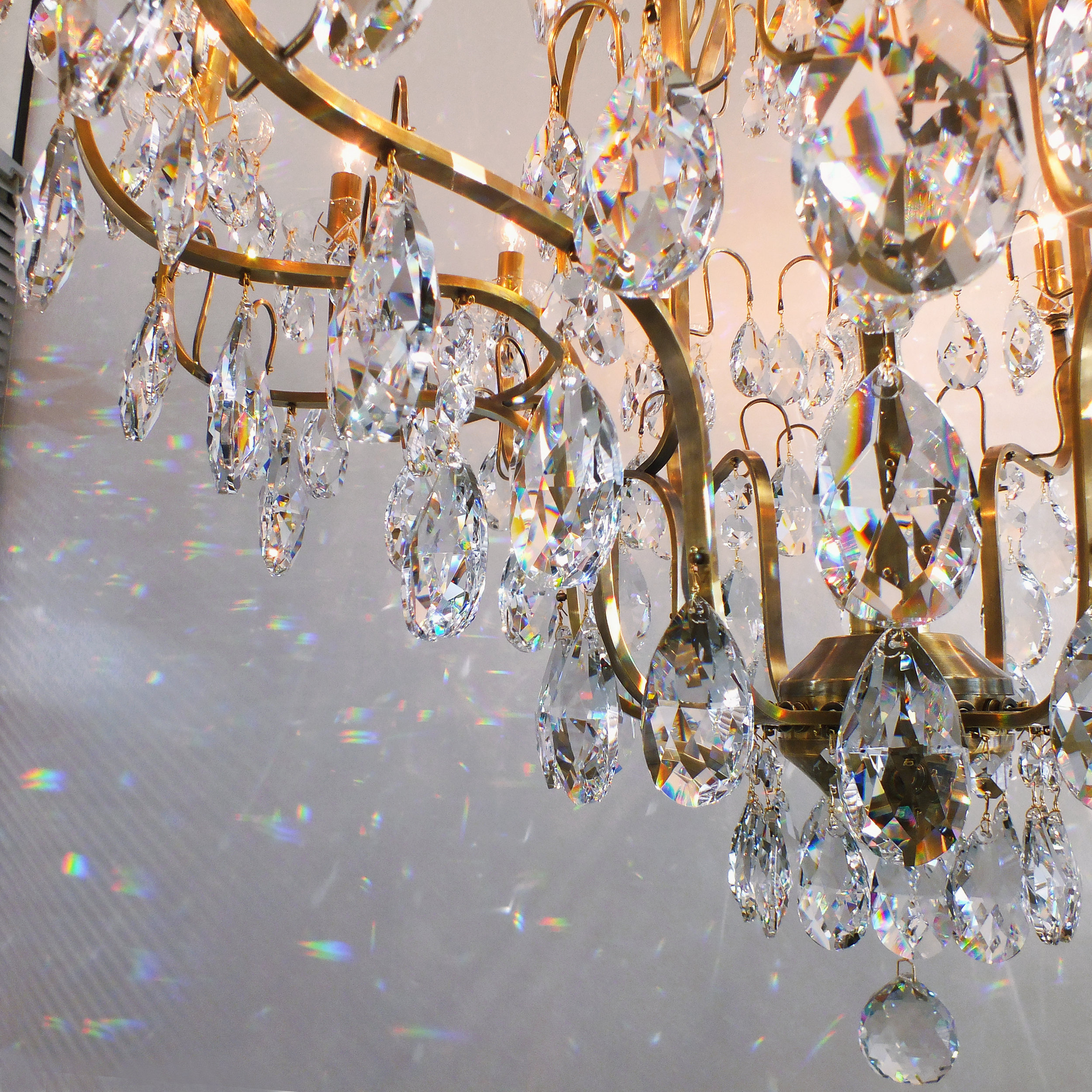 Lustre Berlim fabricado em cristais egípcios legítimos ASFOUR.