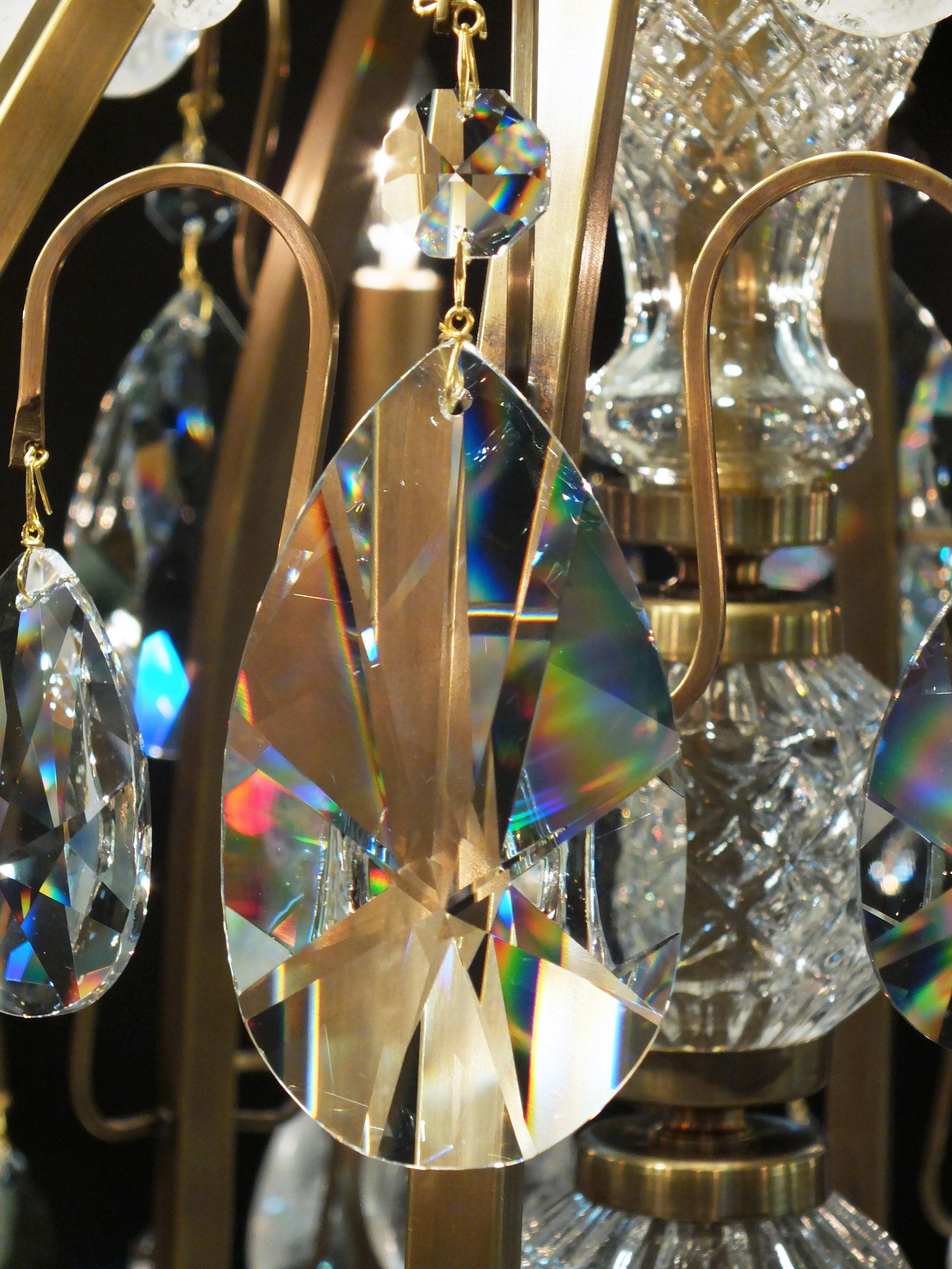 Foto de detalhe do cristal legítimo egípcio.