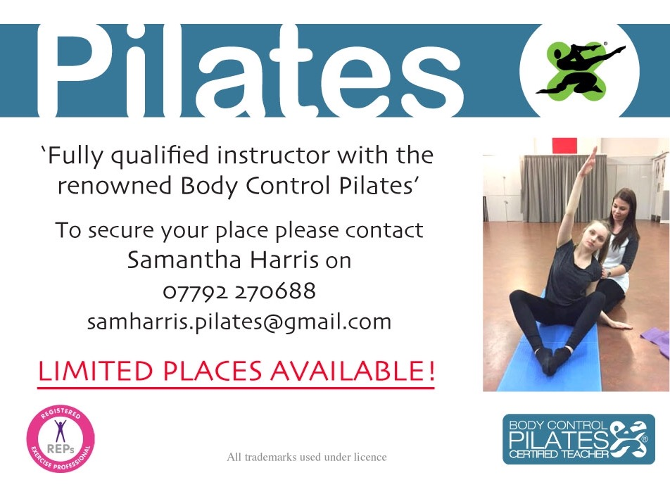 - Please contact Sam to secure your place. Classes start at 7pm-8pm