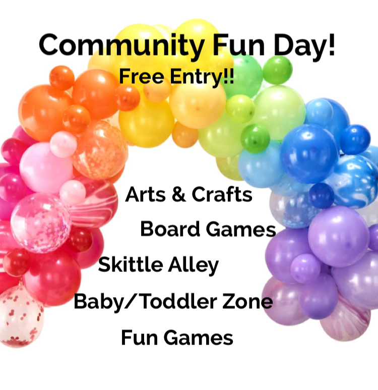 Community Fun Days! - This Summer we held 2 Community Fun Days! Both were a huge success and extremely busy! Thank you to all those that came along, we look forward to seeing you in October!