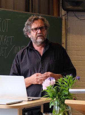 John Jones - Freelance journalist and teacher in peace education programmes, Oslo