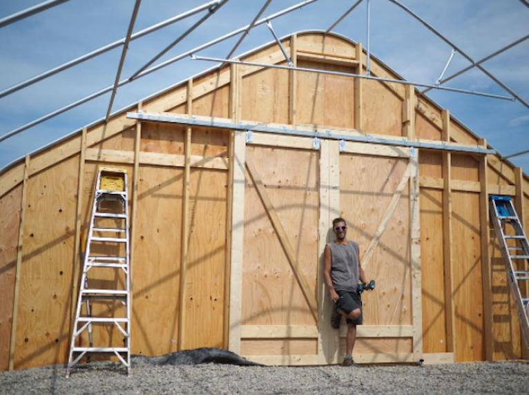 Mt. Philo Hops Storage Structure