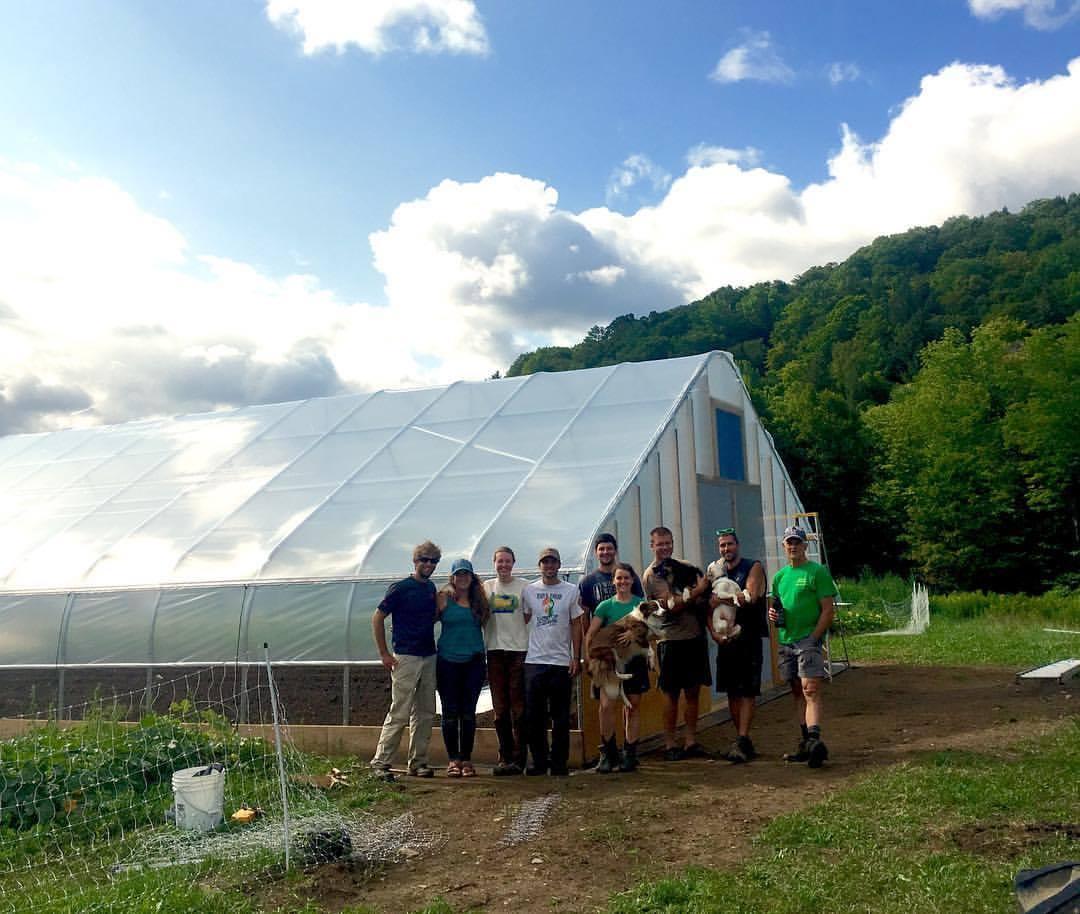 Long Winter Farm Poly Crew