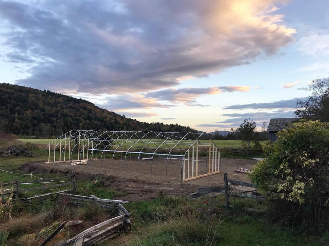 Pebble Brook Farm Greenhouse