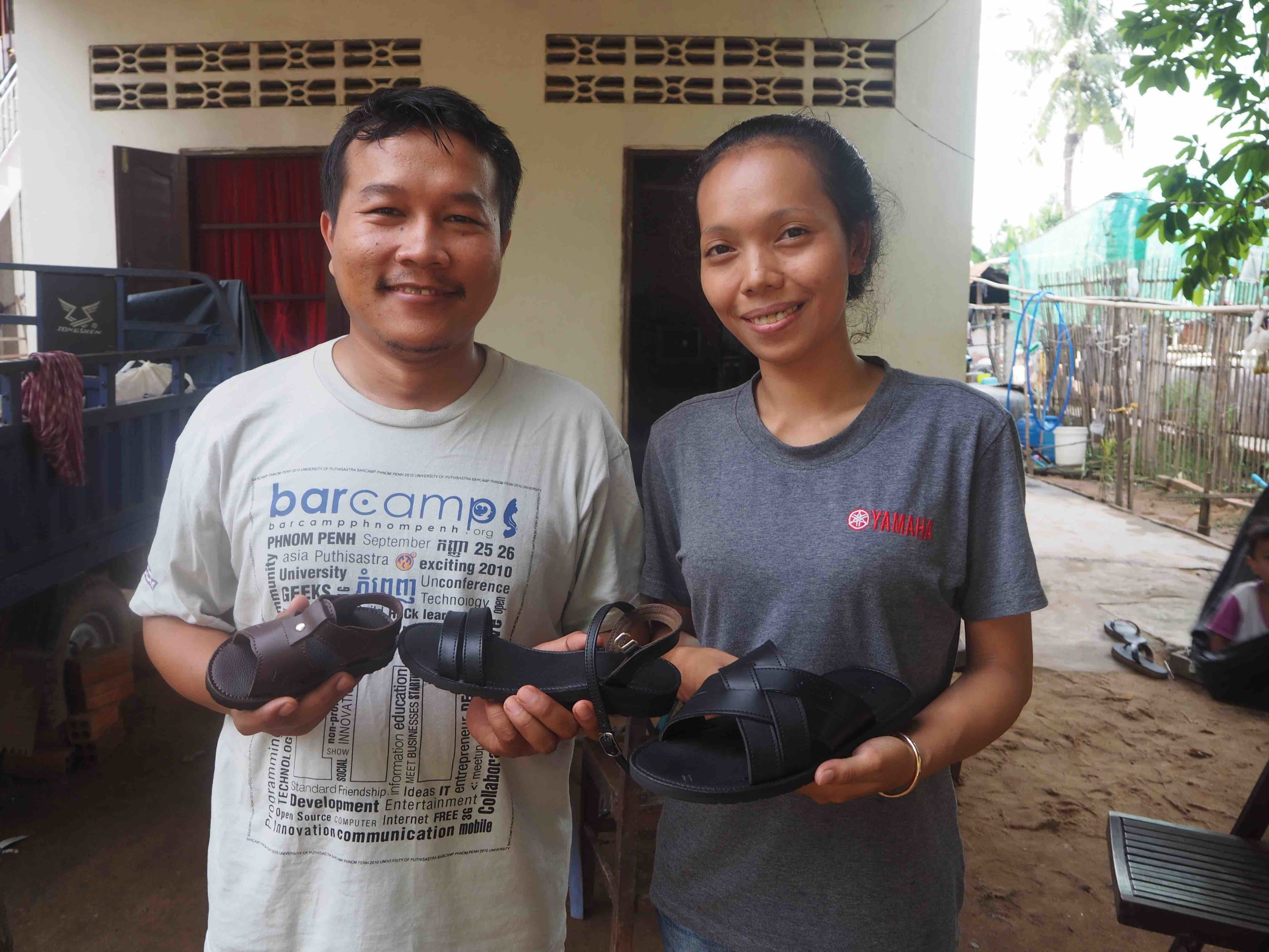 Khmer Corporation Shoe    Loan:  Machines to increase production of shoes, create new jobs, and provide shoes to disadvantaged families in their local community