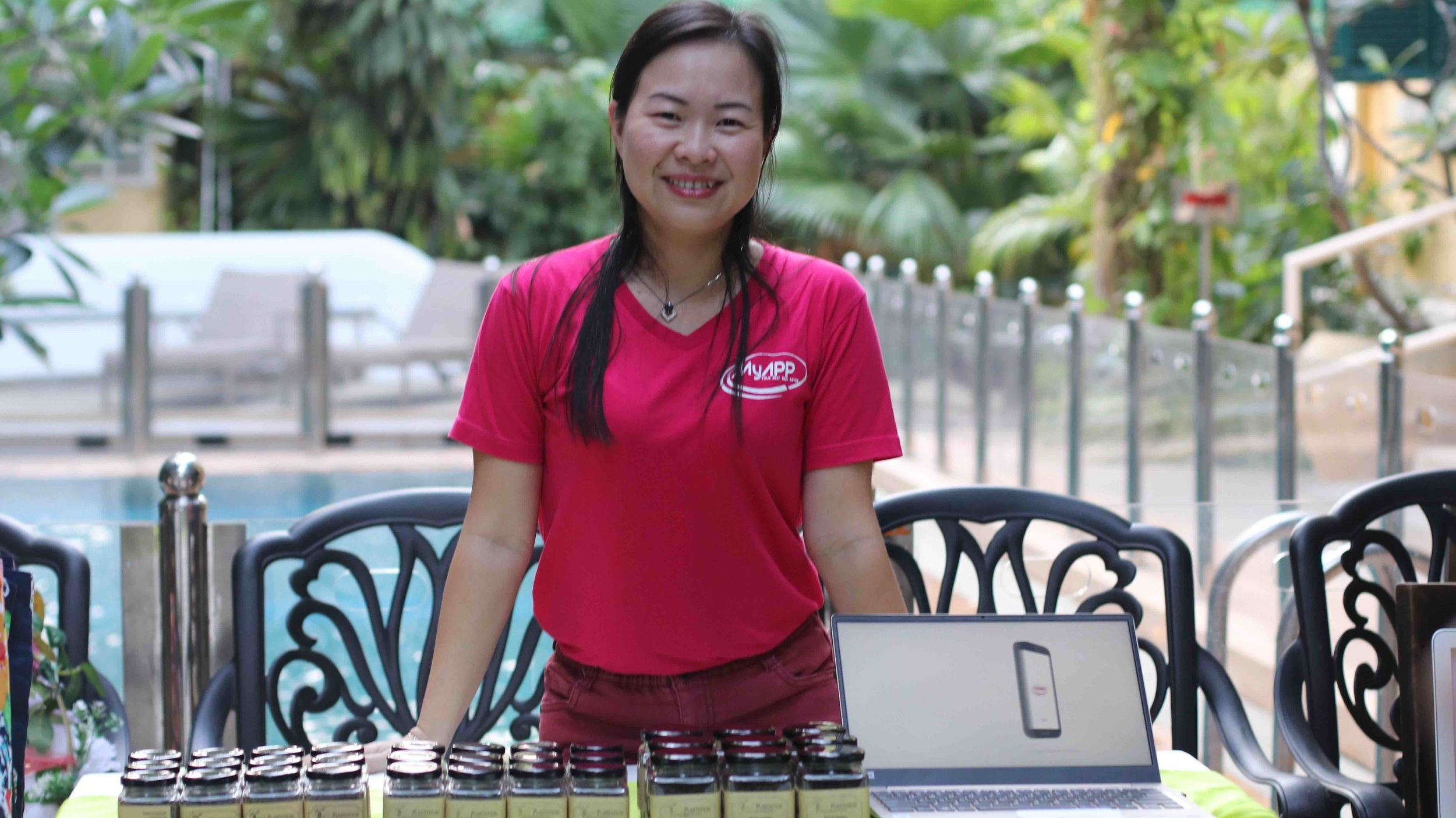"""Srey Sung Kam, Founder of Cambodian Pepper Farm """"Family Plantation"""", and new tech startup """"MyApp Service"""""""
