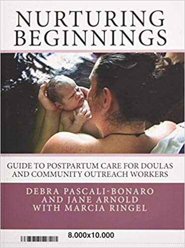 Nurturing Beginnings:  Guide to Postpartum Care for Doulas and Community  Outreach   Kindle , and paperback,  by Debra Pascali-Bonaro and Jane Arnold with Marcia Ringel