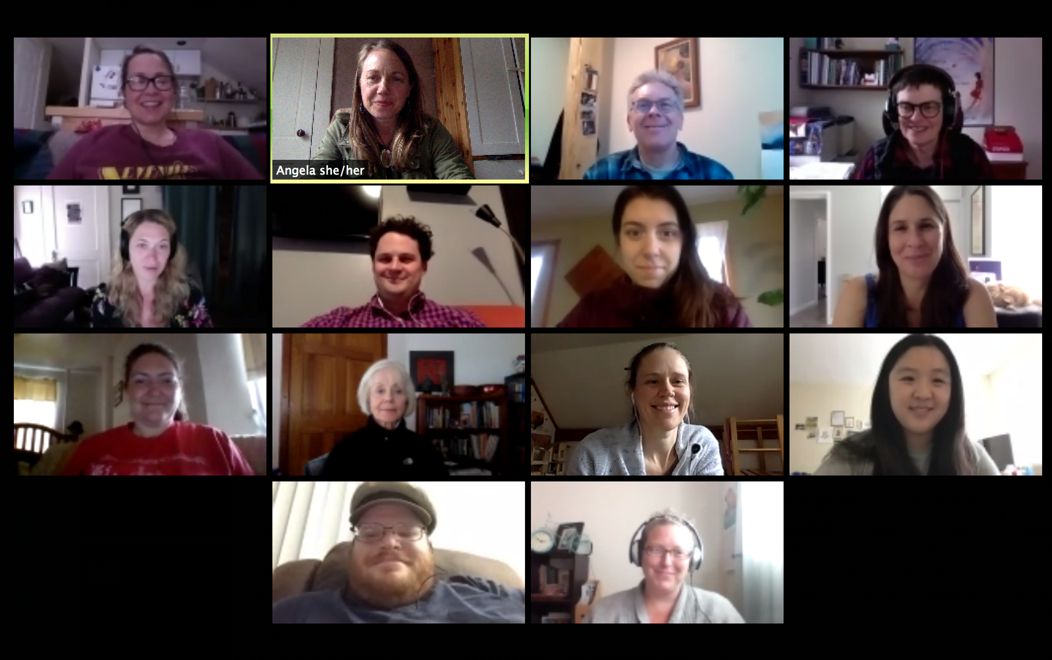 With participants in Detroit, Vermont, Los Angeles, San Francisco, Houston, Maryland, and New York, the winter 2019 virtual circle engaged with tenacity, humility, vulnerability, and the willingness to change.