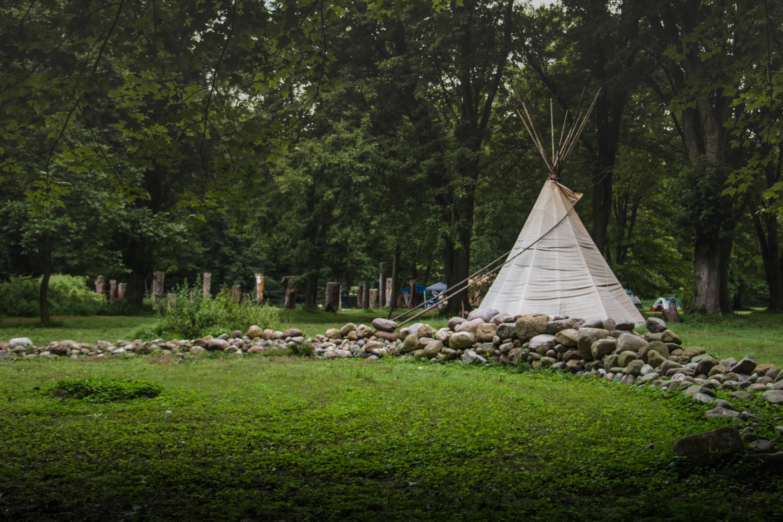 "In 2012 the Township of Mahwah determined these ceremonial grounds of the Ramapough Lenape Nation were ""zoned for prayer."" The first of yesterday's court cases was supposed to be about the township's recent decision to not ""zone"" the Tribe's ceremonial grounds for prayer."
