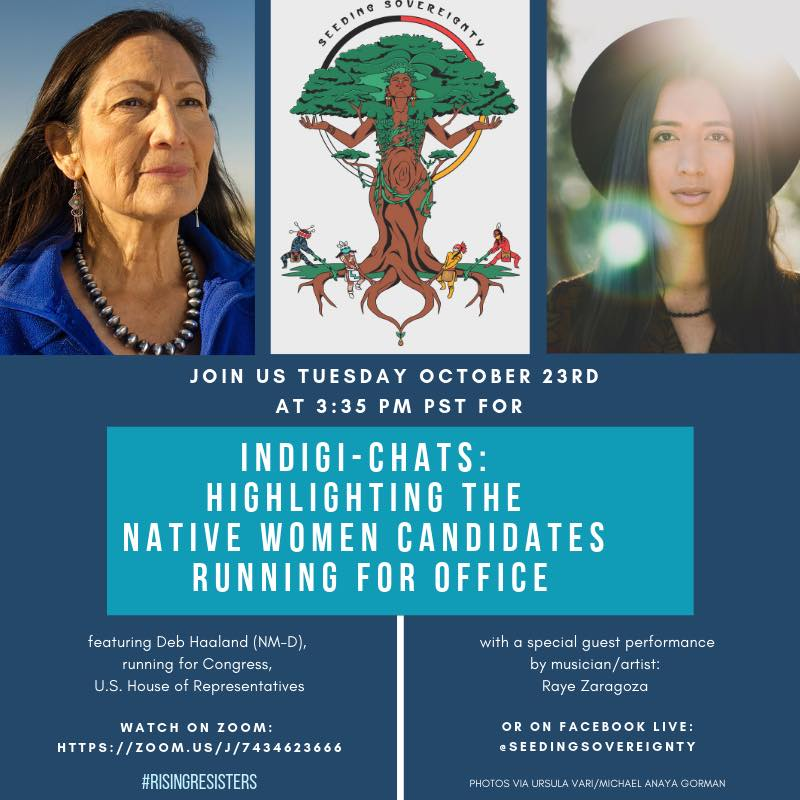 Deb Haaland - Ensure Tribal Leaders are Heard