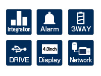 GRAPHTEC DATA LOGGER GL240 USEFUL FUNCTIONS INTEGRATION ALARM 3 WAY DRIVE DISPLAY NETWORK