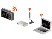 GRAPHTEC MIDI DATA LOGGER GL840 WIRELESS MEASUREMENT USING WIRELESS LAN AS OPTION