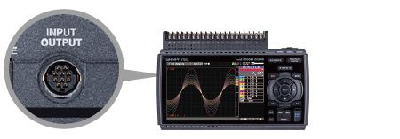 GRAPHTEC MIDI DATA LOGGER GL840 FOUR-CHANNELS OF LOGIC / PULSE INPUTS