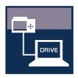 GRAPHTEC MIDI DATA LOGGER GL840 USB DRIVE MODE