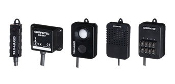 INPUT MODULES: measuring the Temperature, Humidity, Acceleration, Carbon dioxide (CO2), Illuminance, UV, AC current, Voltage