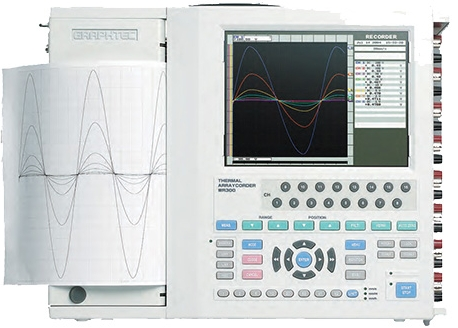 GRAPHTEC ARRAY CORDERS MEMORY RECORDER WR300 WR310 SERIES