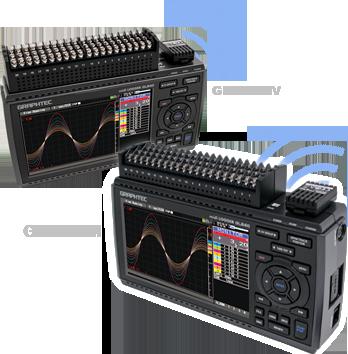 GRAPHTEC DATA LOGGER - GL840-M, GL840-WV