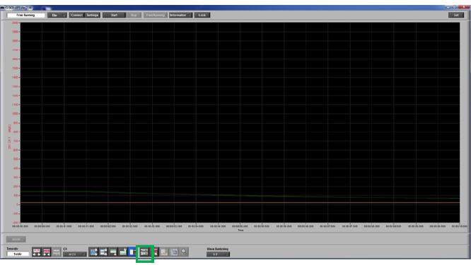 Graphtec Data Logger GL900 Print Screen or Save Screen Displays on GL900 Step 1