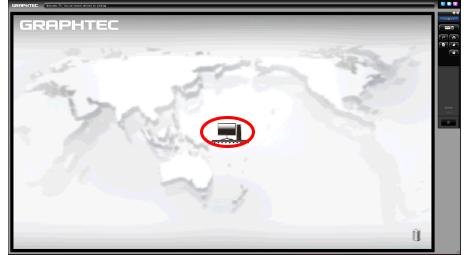 Graphtec Data Logger GL7000 Data Platform Connecting to Computer via USB Step 2