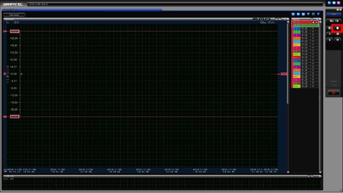 Graphtec Data Logger GL7000 Data Platform Converting File GBD to CSV on GL900 Step 1
