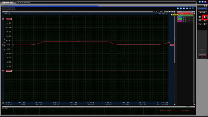Graphtec Data Logger GL7000 Data Platform Print Screen or Save Screen Displays on GL900 Step 2