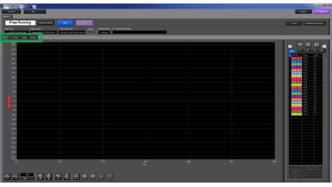 Graphtec Data Logger GL820 Print or Save Screen Displays Step 1