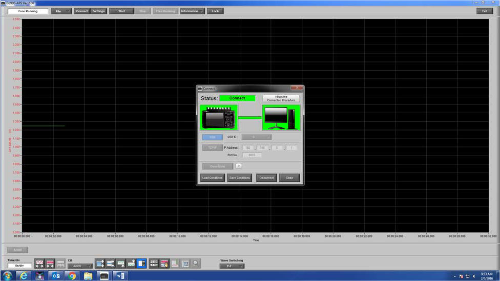 Graphtec Data Logger Data Platform How To Name and Label Channels Step 1