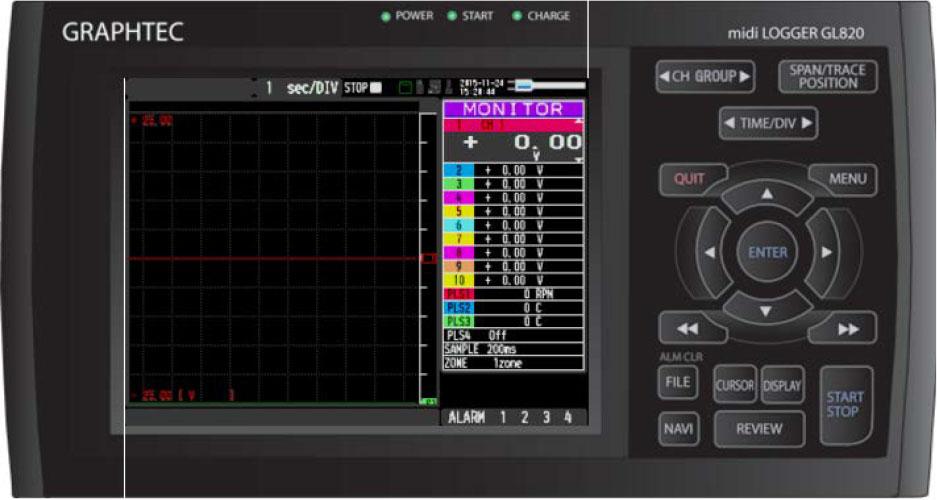 Graphtec Data Logger Data Platform Turning on Pulse Logic Inputs using B-513 Cable Step 7