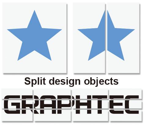 Graphtec Pro Studio Software Split Design Objects