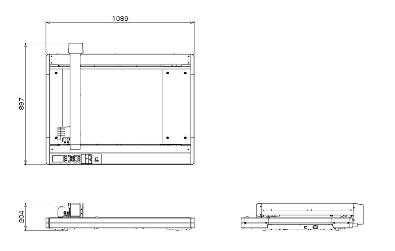 Flatbed Cutter, Flatbed Cutting Plotter, Flatbed Packaging Cutter Graphtec FCX4000-50