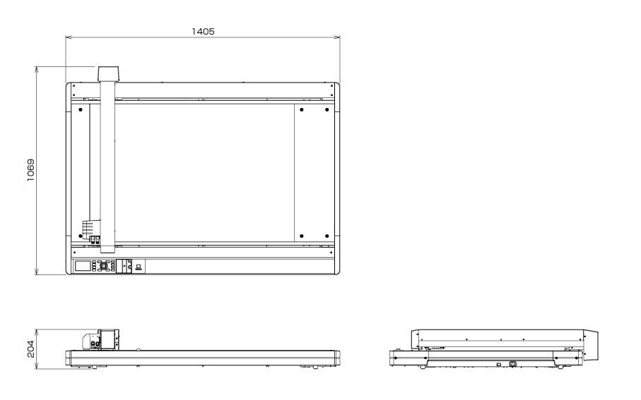 Flatbed Cutter, Flatbed Cutting Plotter, Flatbed Packaging Cutter Graphtec FCX4000-60