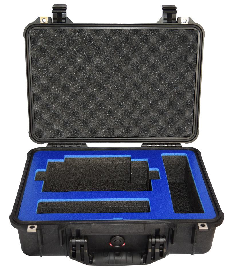 GL980/2000 Series Pelican Case w/custom foam inserts  B-536US-980/2000