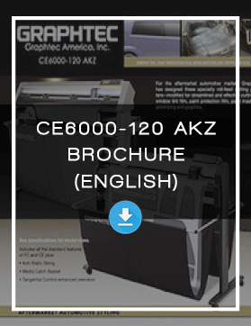 Window Tint Vehicle Wrap Cutter Machine Vinyl Cutter Brochure Graphtec CE6000 AKZ Web Eng.jpg