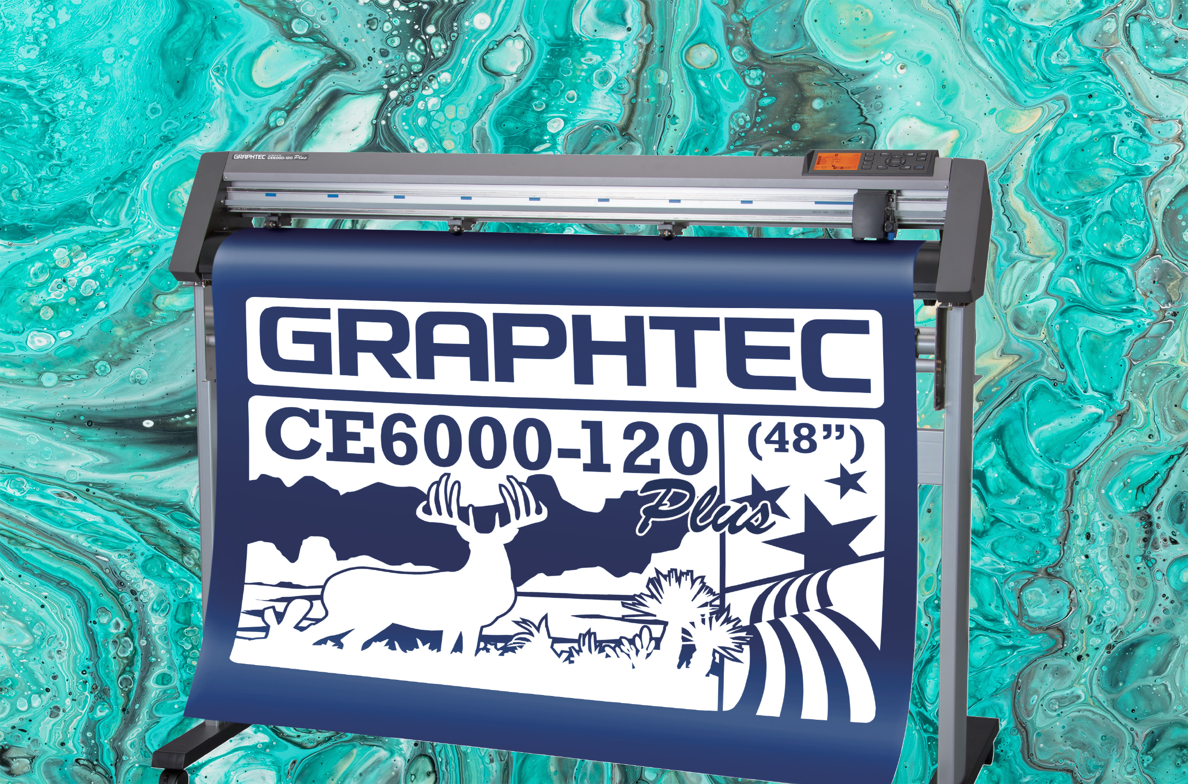 CE6000 Plus Series Vinyl Cutters, Cut Plotters, Vinyl