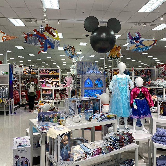 Well, there's now a little slice of Disney in Target at The District. Awesome! #southjordanutah #utah #targetdisney