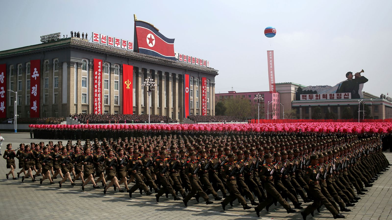 2017: North Korea