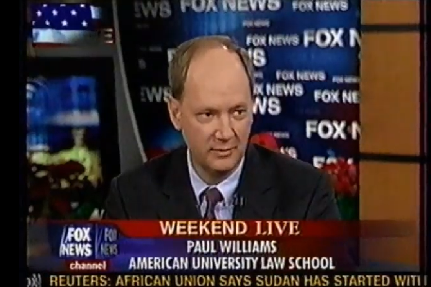 Dr. Paul Williams on Fox News discussing the Saddam Hussein trial.