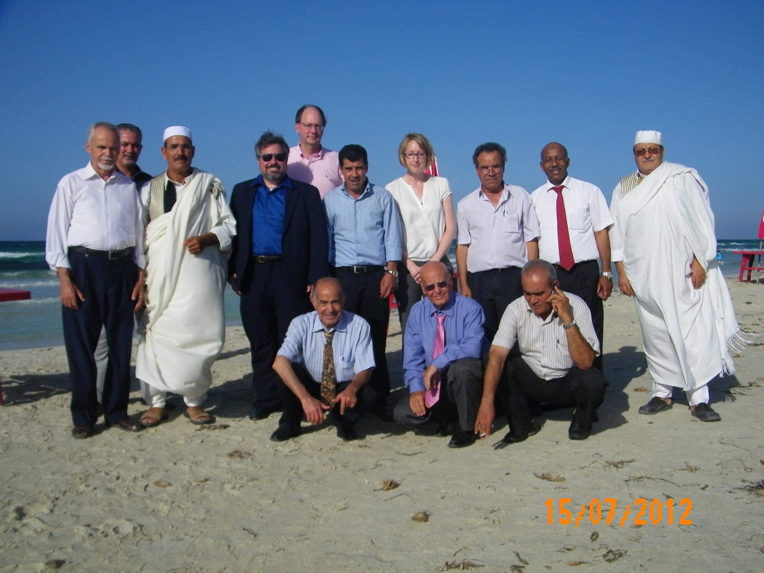 Libya Transitional Justice Workshop Beach.jpg