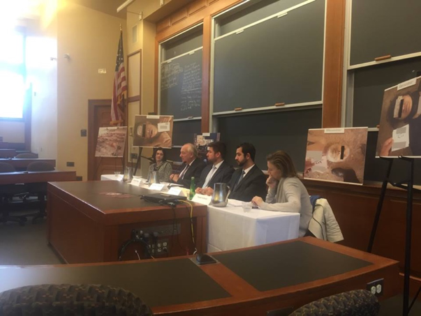 "Launch of ""Don't Look Away: Images of Systematic Torture in the Syrian Regime"" Exhibit at Harvard Law School"